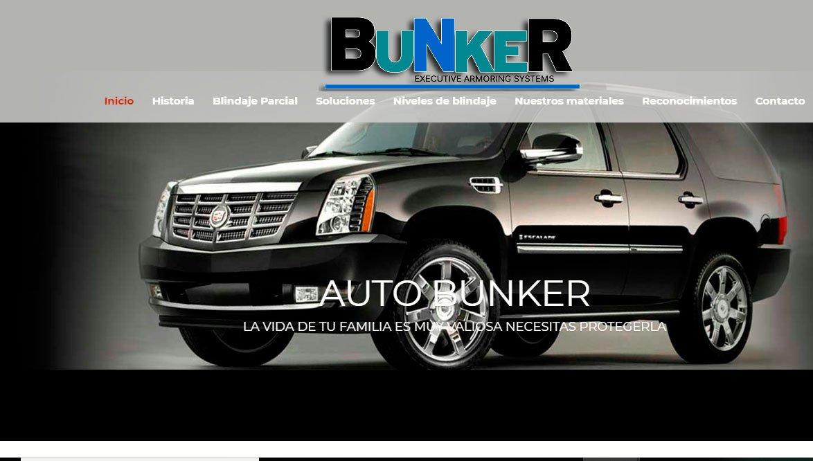 Ejemplo de pagina web autos