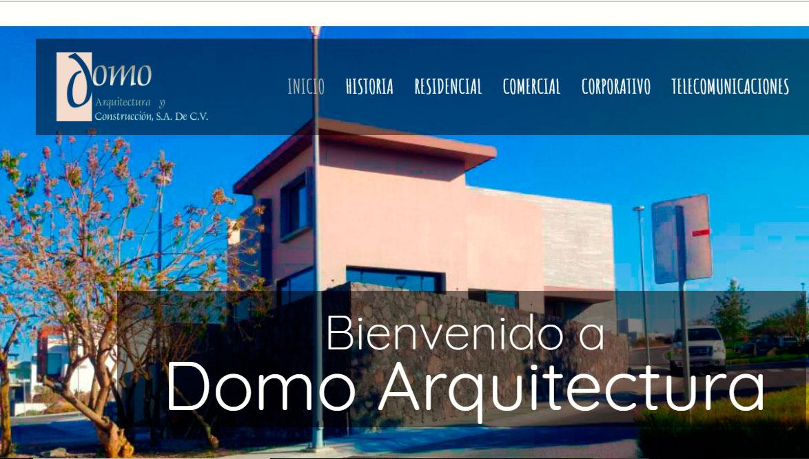 Ejemplo de pagina web arquitectura