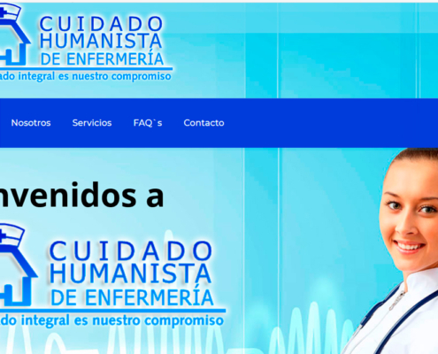 Ejemplo de pagina web hospitales