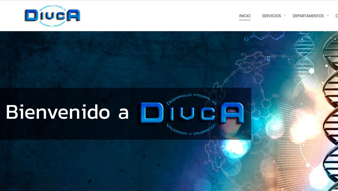 Ejemplo de pagina web quimicos