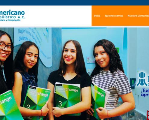 Ejemplo de pagina web escuela