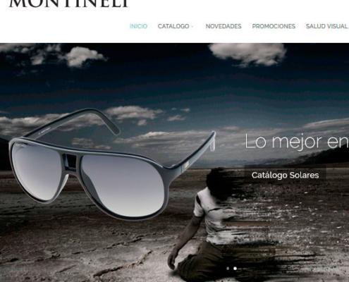 Ejemplo de tiendas virtuales lentes