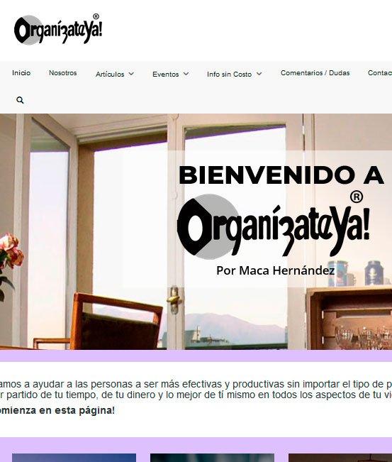 Ejemplo de tiendas virtuales organizacion