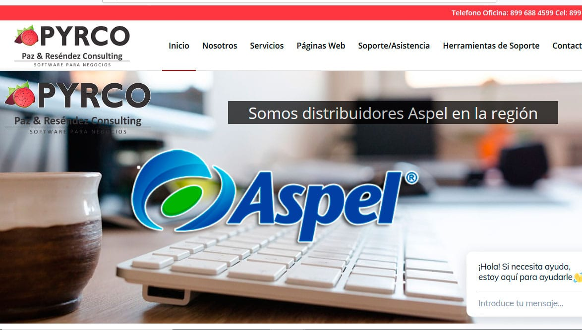 Ejemplo de pagina web economica