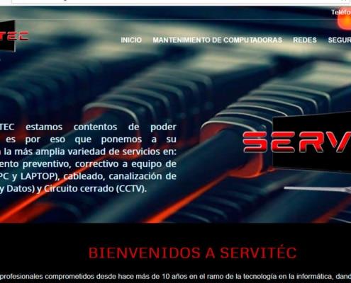 Ejemplo de pagina web soporte