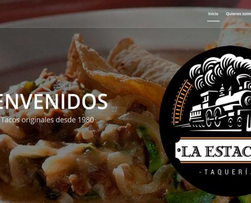 Ejemplo de pagina web taqueria